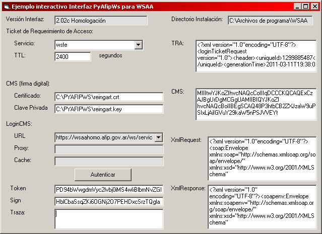 ManualPyAfipWs – SistemasAgiles